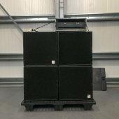 d&b audiotechnik C Series package (2 x C4-Subs and 2x C7-Tops)