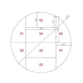 Prolyte Round Stage 04 M